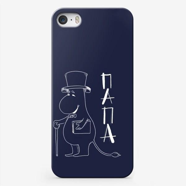 Чехол iPhone «Муми папа»