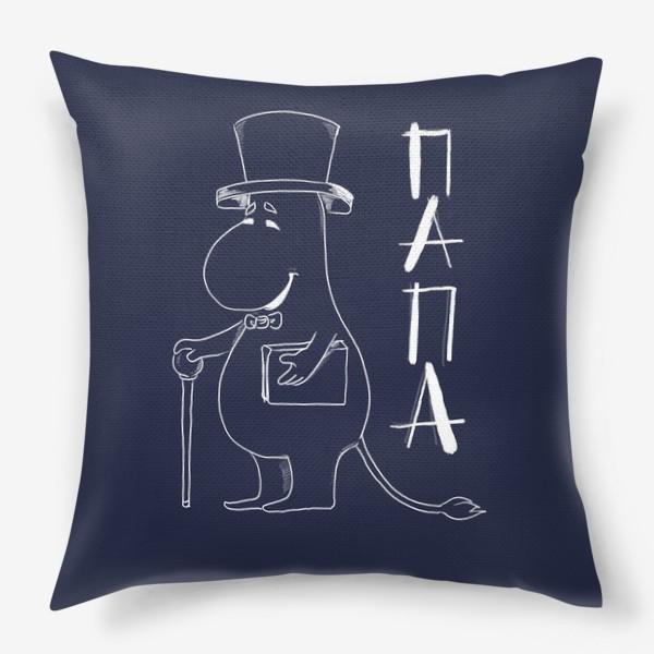 Подушка «Муми папа»