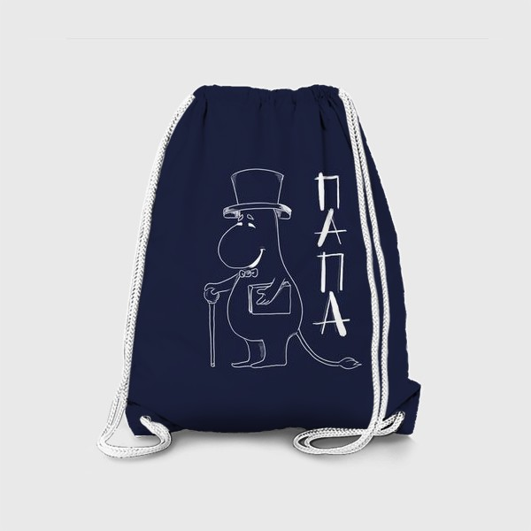 Рюкзак «Муми папа»