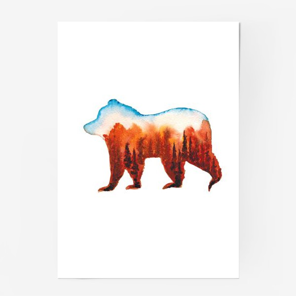Постер «Медведь сибирский»