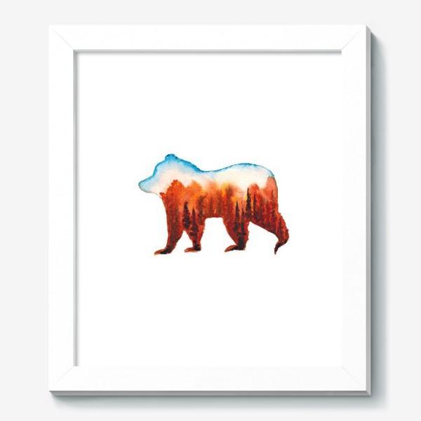 Картина «Медведь сибирский»