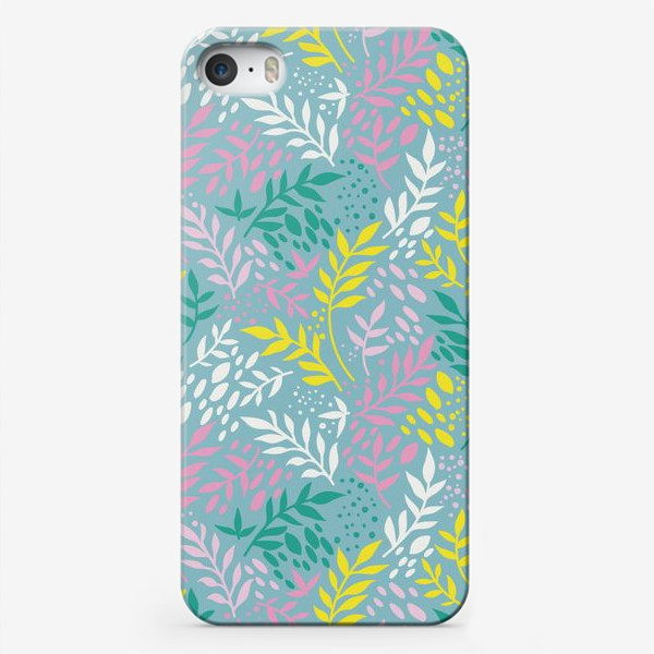 Чехол iPhone «Весенние веточки»