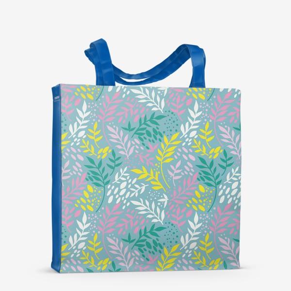 Сумка-шоппер «Весенние веточки»