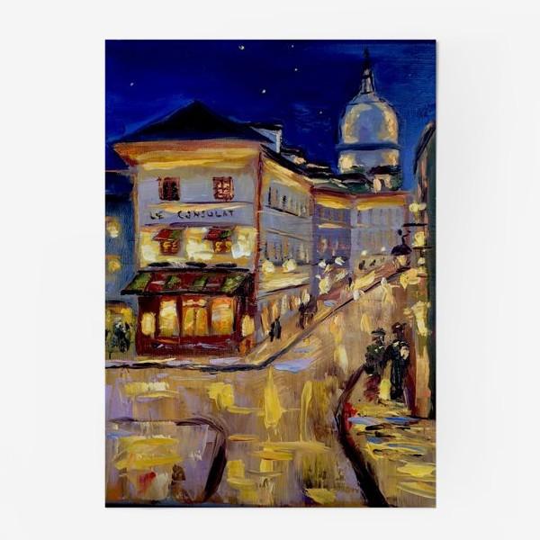 Постер «Ночной Париж»