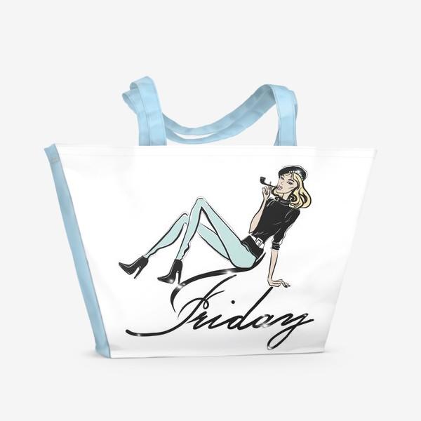 Пляжная сумка «Friday»