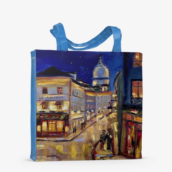 Сумка-шоппер «Ночной Париж»