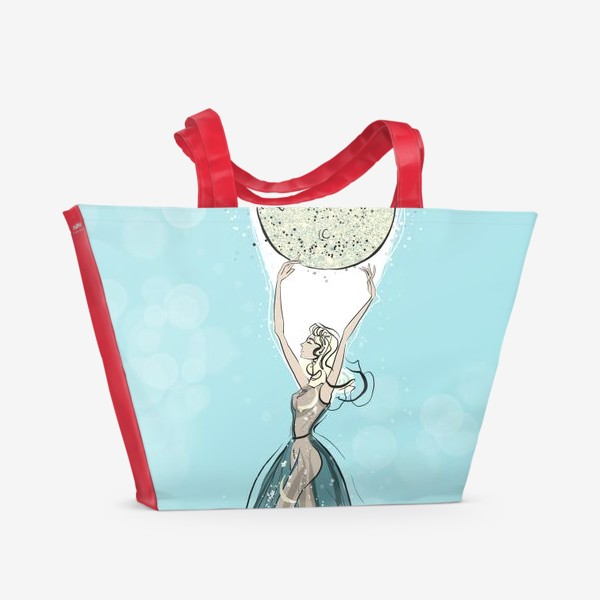 Пляжная сумка «Суперлуние»