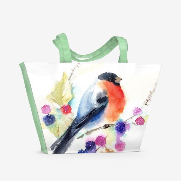 Пляжная сумка «СНЕГИРЬ»
