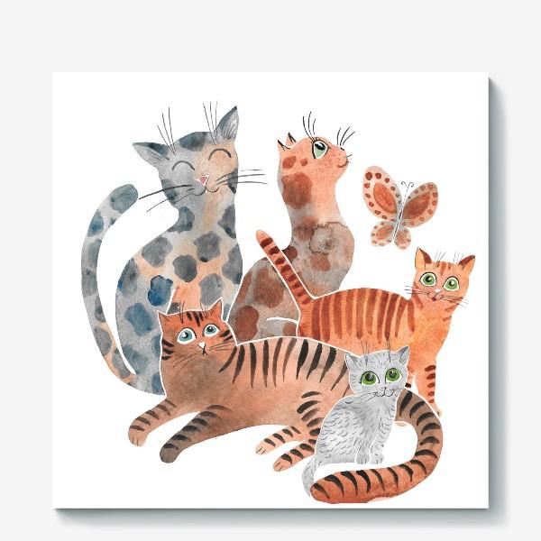 Холст «Милейшие коты»