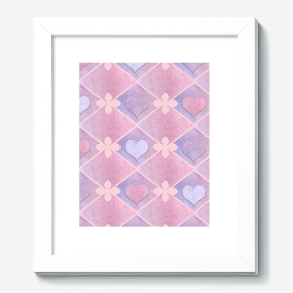 Картина «Розовый винтаж»