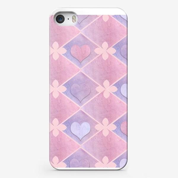 Чехол iPhone «Розовый винтаж»