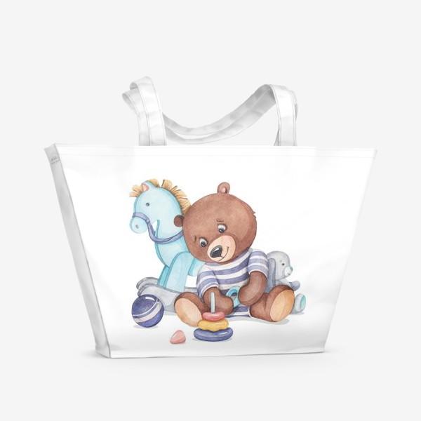 Пляжная сумка «Мишутка»