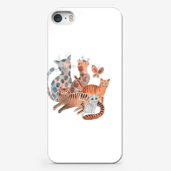 Чехол iPhone «Милейшие коты»