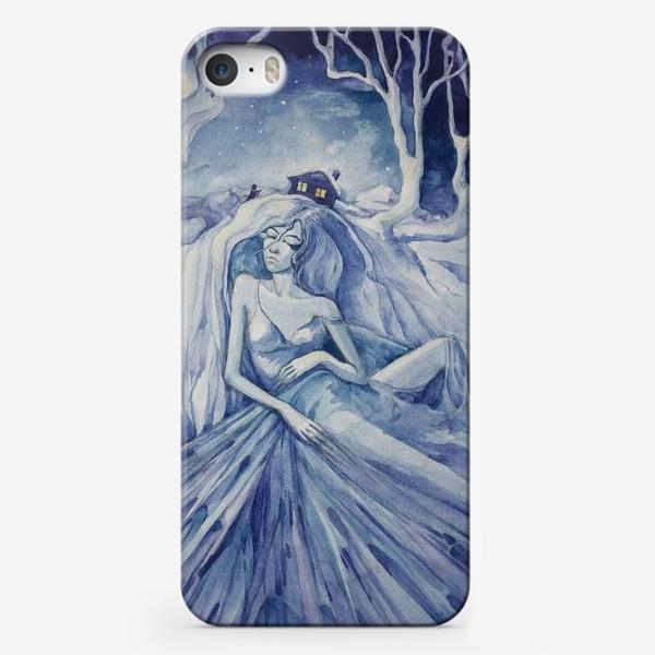 Чехол iPhone «Снежная ночь»