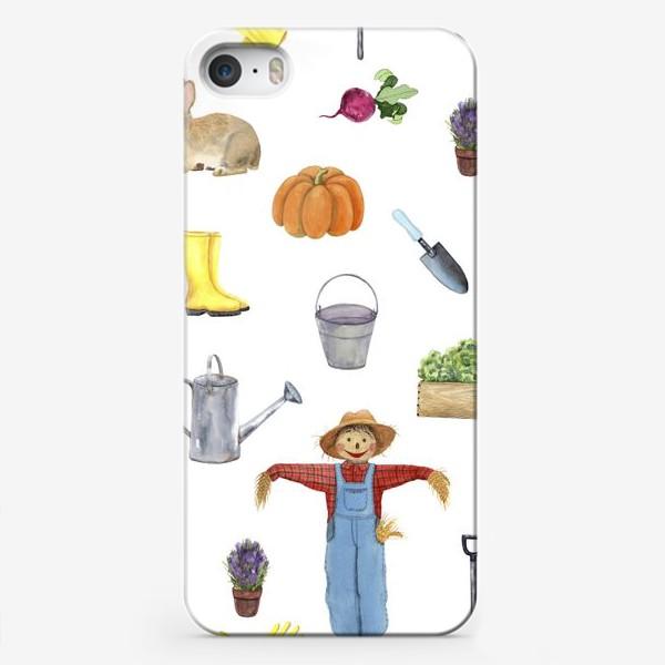 Чехол iPhone «Дача»