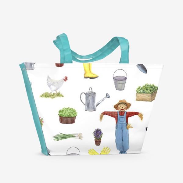 Пляжная сумка «Дача»