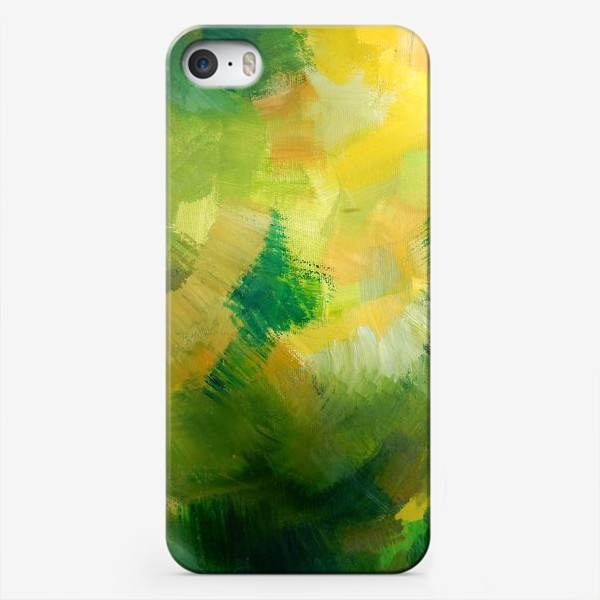 Чехол iPhone «зелень»