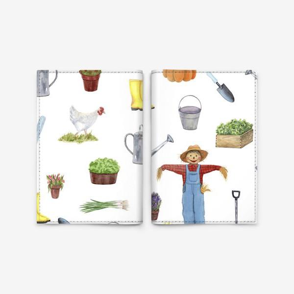 Обложка для паспорта «Дача»