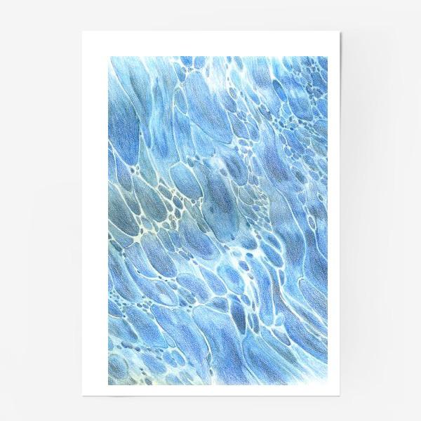Постер «Водная гладь»