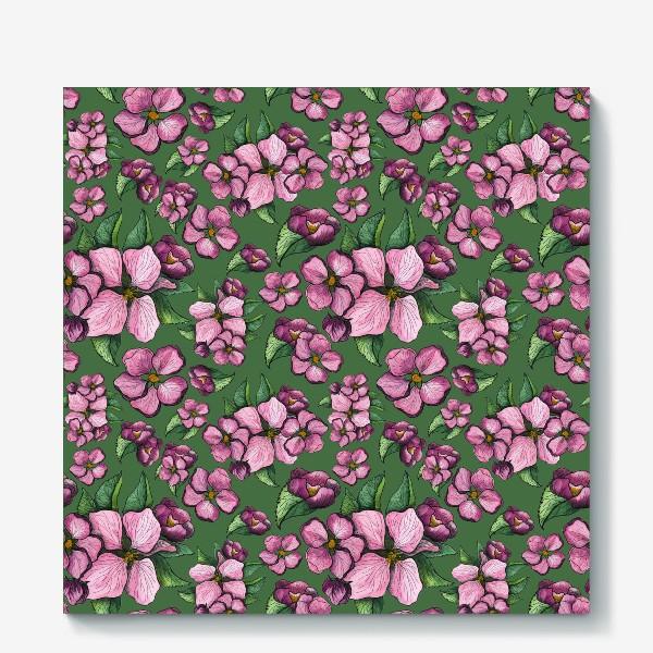 Холст «Весеннее цветение 2»