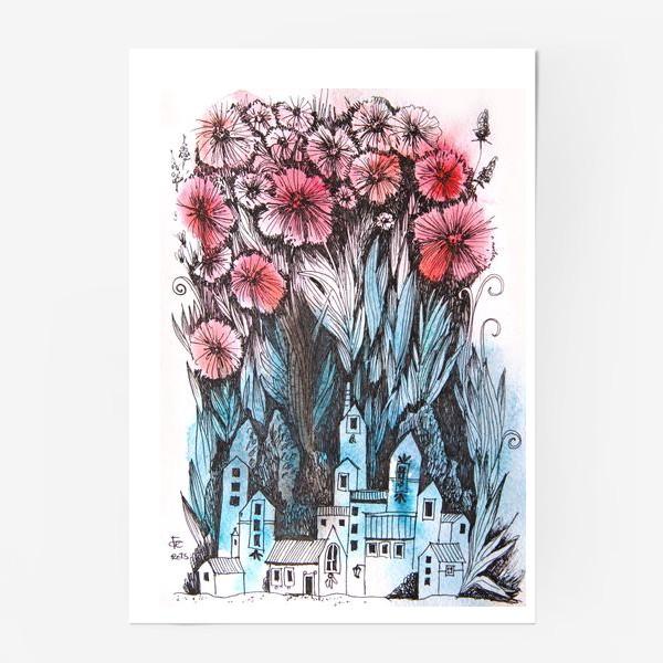 Постер «Весна в городе №2»