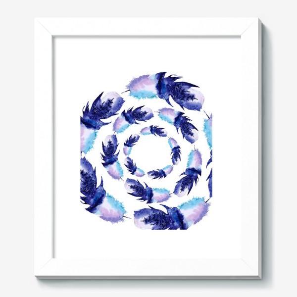Картина «Перья зимние круги»