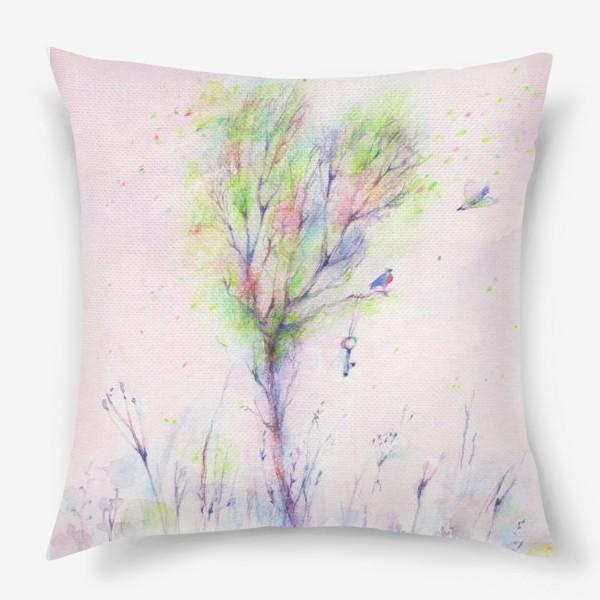 Подушка «Дерево-Любовь»