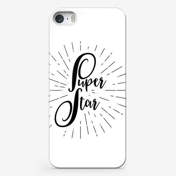 Чехол iPhone «Super Star»