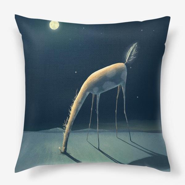 Подушка «Сны. Жираф. Крылья Ноги Хвост.»