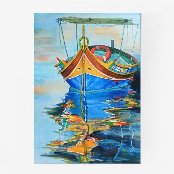 Постер «Лодка»