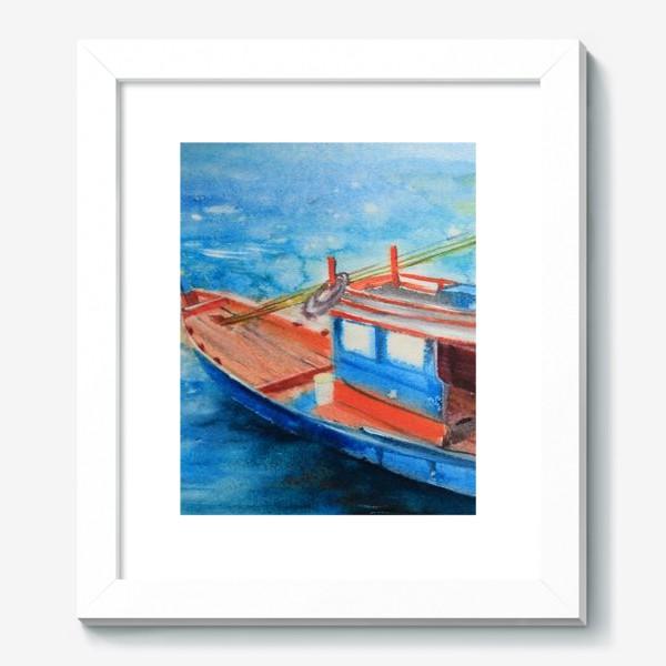 Картина «Рыбацкая лодка»