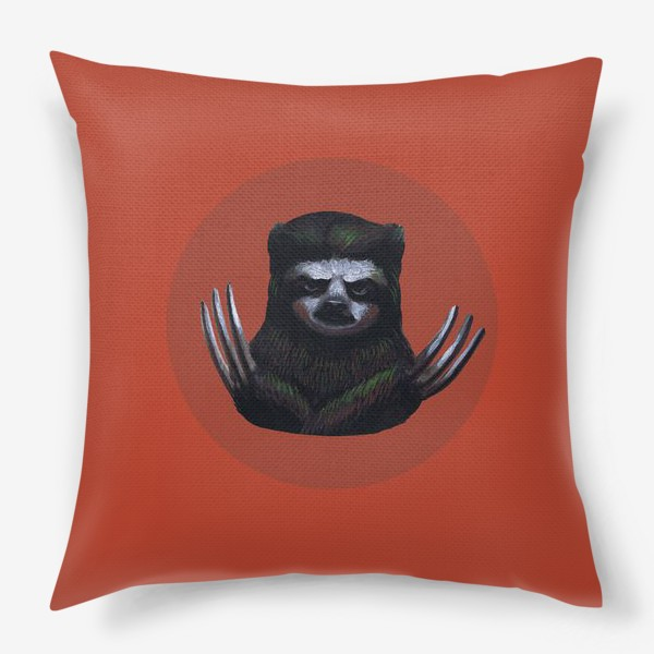 Подушка «Ленивец-росомаха»