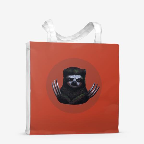 Сумка-шоппер «Ленивец-росомаха»