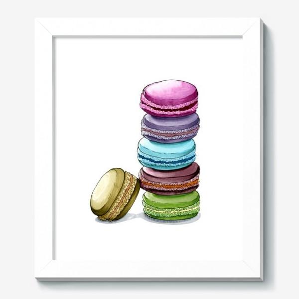 Картина «Разноцветные макаруны»