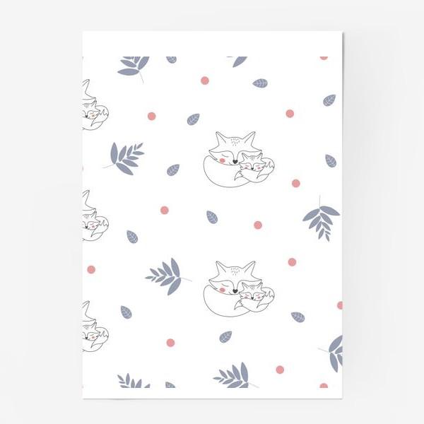 Постер «Паттерн лисы»