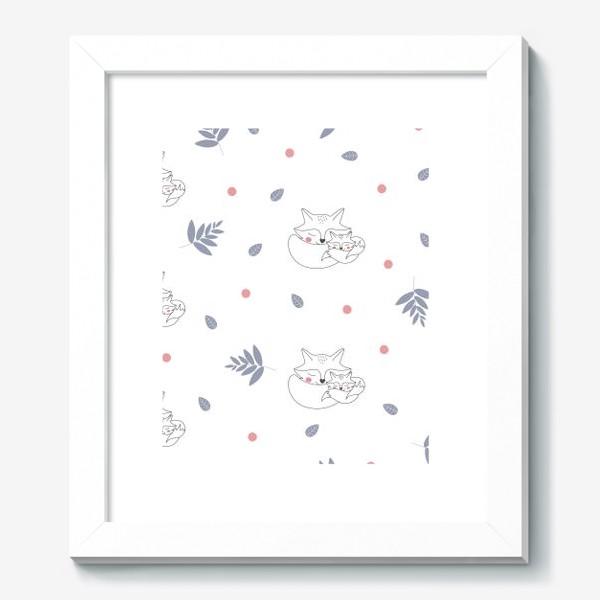 Картина «Паттерн лисы»