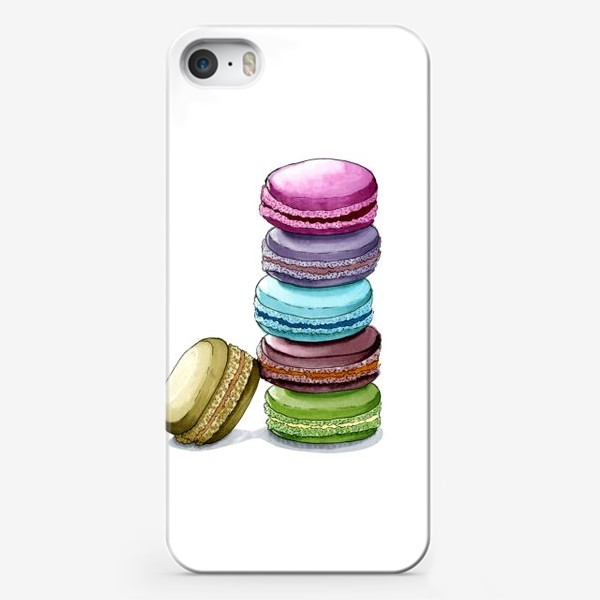 Чехол iPhone «Разноцветные макаруны»