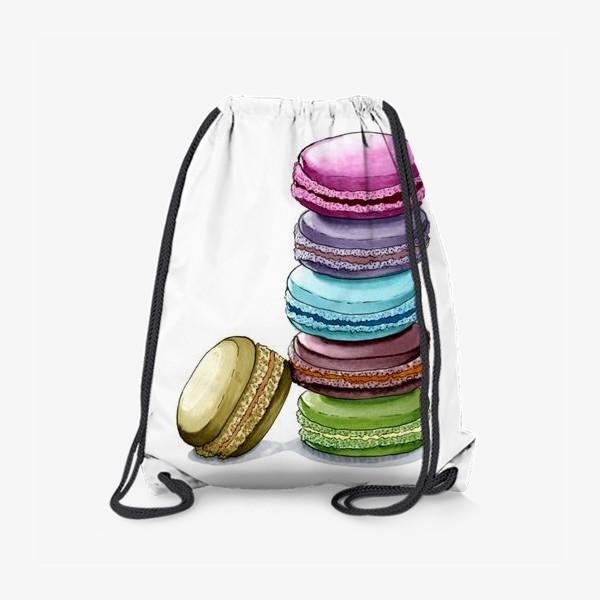 Рюкзак «Разноцветные макаруны»