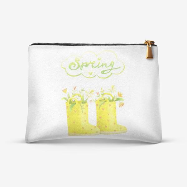 Косметичка «Солнечная весна»