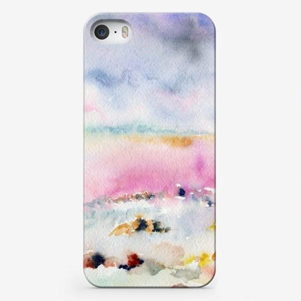 Чехол iPhone «Крым, соленое озеро»