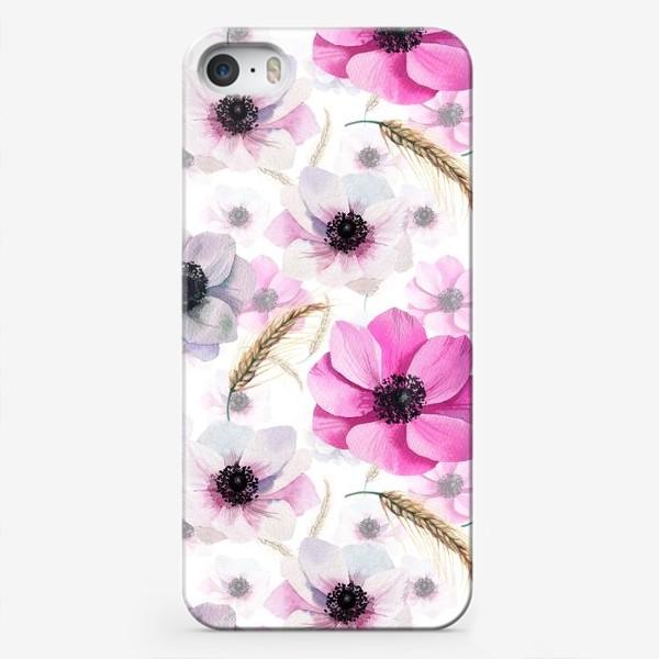 Чехол iPhone «Pink Anemones»