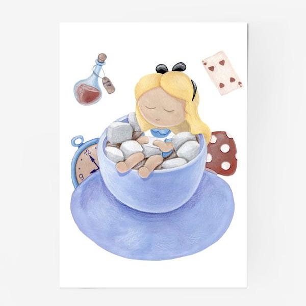 Постер «Алиса в стране чудес»