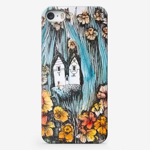 Чехол iPhone «Городок в нарцисах»