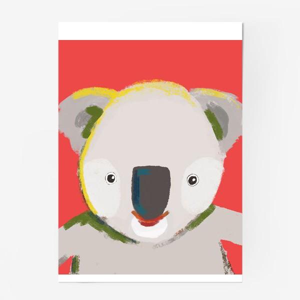 Постер «Мишка коала»