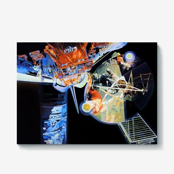 Холст «Освоение космоса, лист №3»