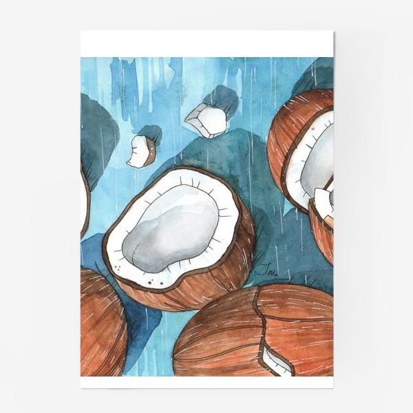Постер «Кокосы»