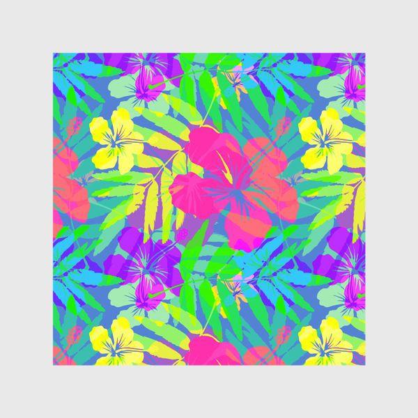 Шторы «Тропические цветы»