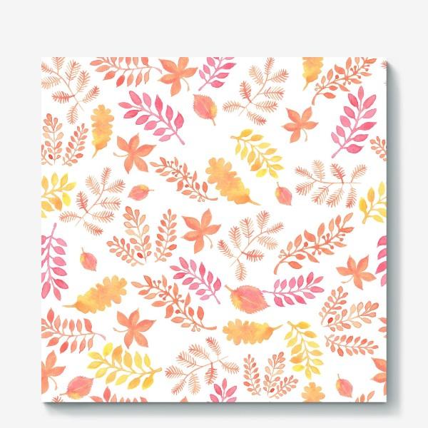 Холст «Осенние листья»