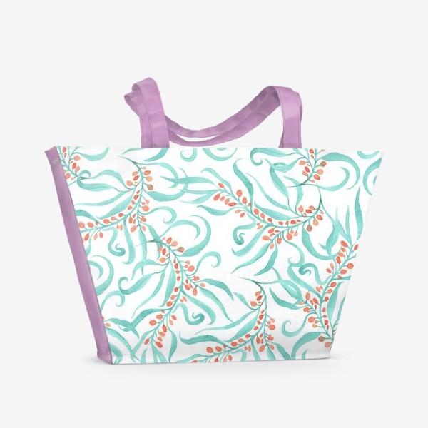 Пляжная сумка «Облепиха»