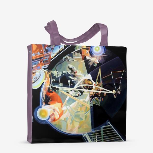 Сумка-шоппер «Освоение космоса, лист №3»